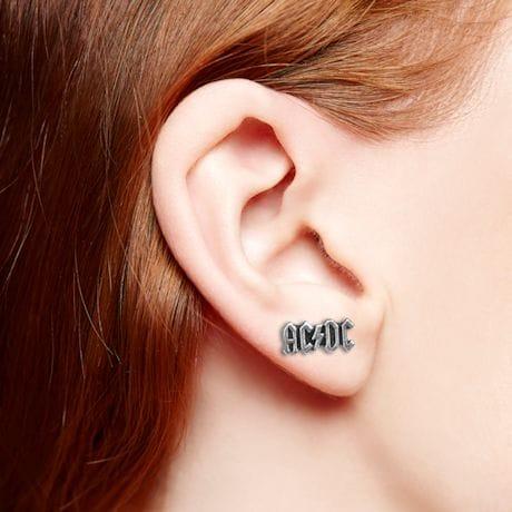 Rock Band Stud Earrings