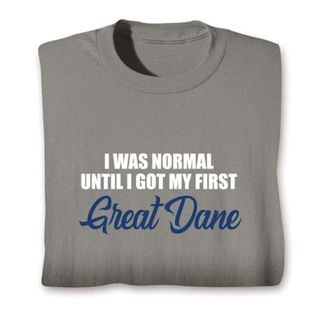 Personalized Was Normal Shirts