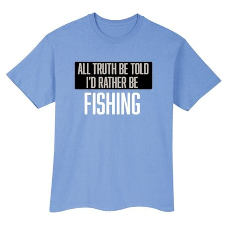 Personalized I'd Rather Be Shirts