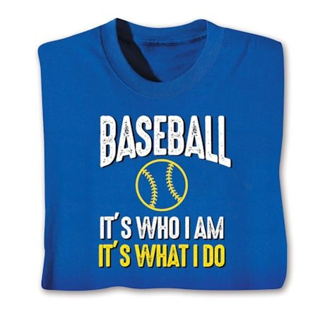 Sports 'What I Do' Shirts
