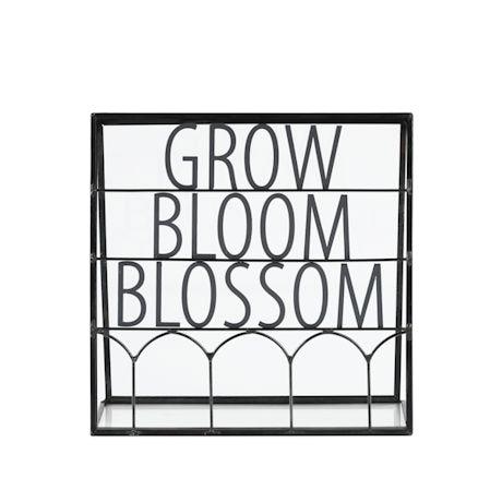 Grow Bloom Blossom A-Frame Plant Display