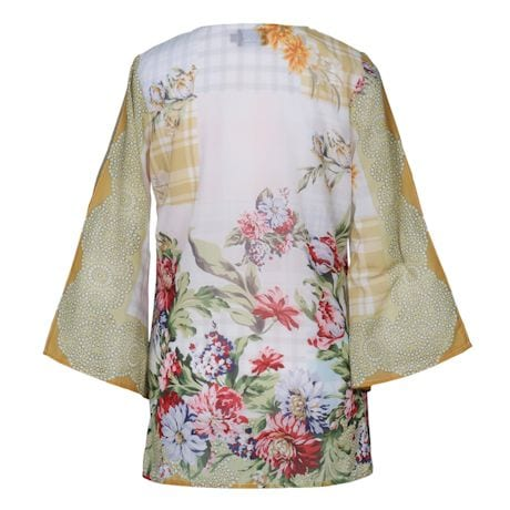 Floral And Tassels Tunic