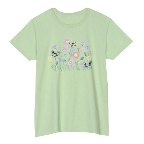 Butterfly Floral Tee