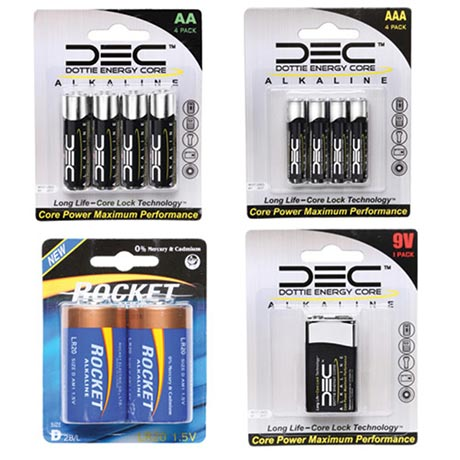 4-Pack AA Batteries