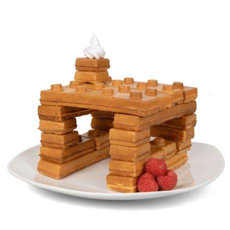 Building Bricks Waffle Maker