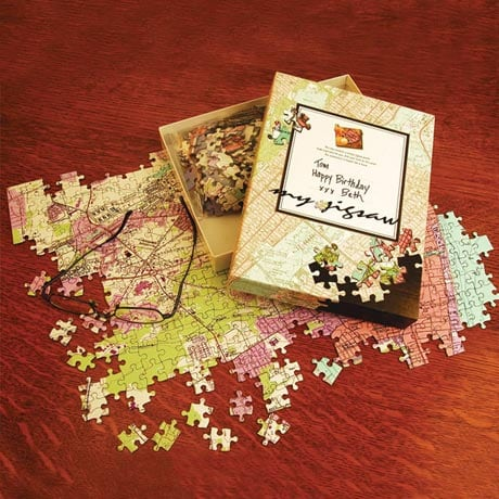Personalized Hometown Jigsaw Puzzle - Geological Survey