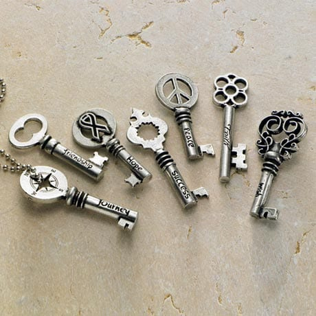 INSPIRATION KEY NECKLACES
