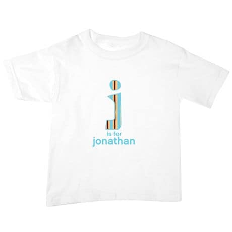 Personalized T-shirt Or Snapsuit