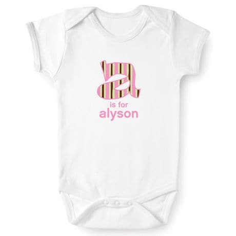 Personalized Tee Or Snapsuit