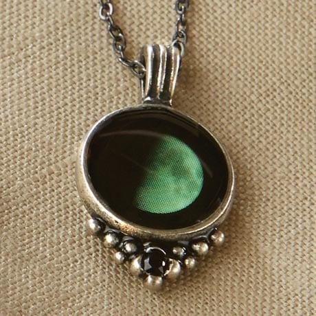 Moonglow Necklace - Half Moon
