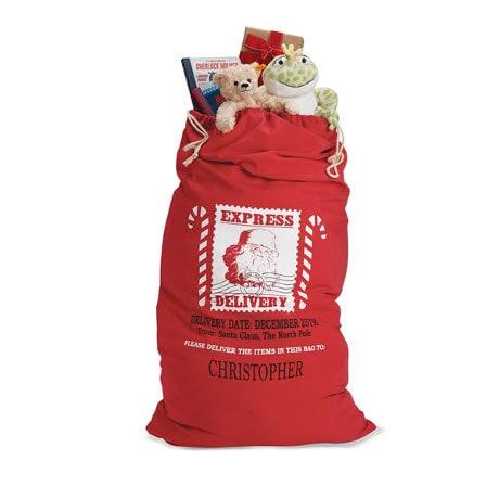 Personalized Santa's Bag