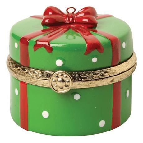 Porcelain Surprise Ornaments Box