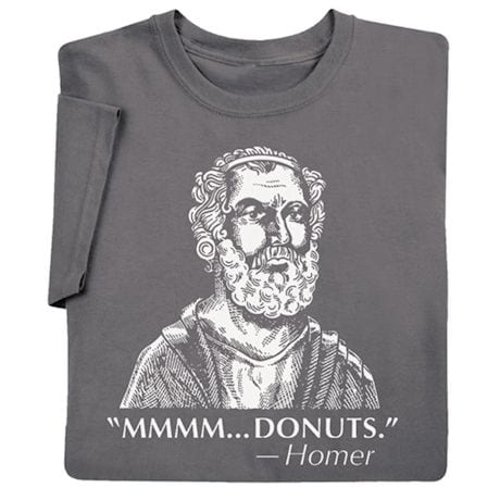Homer Donuts - Famous Quote T-Shirt