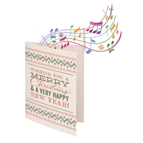 Endless Singing Christmas Joke Card