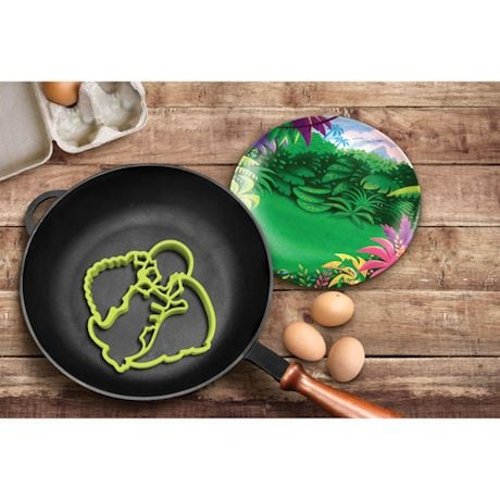 Crack-A-Smile Breakfast Molds - Dinosaurs