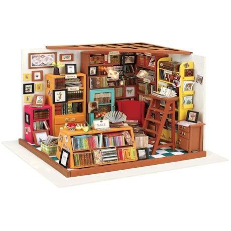 DIY Miniature Bookstore Kit