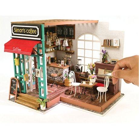 DIY Miniature Coffee Shop Kit