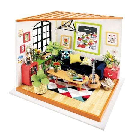 DIY Miniature Sitting Room Kit