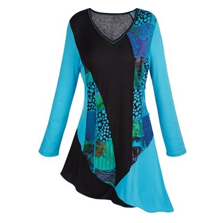 Asymmetrical Tunic Top