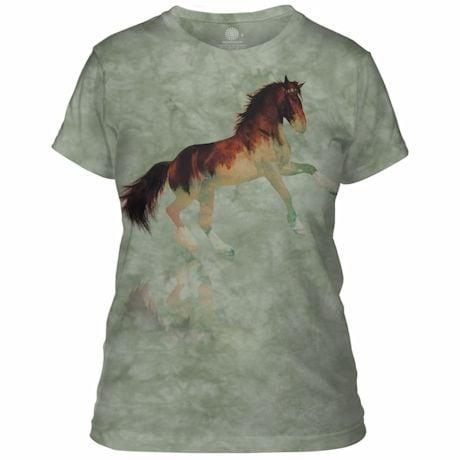 Forest Stallion Ladies T-Shirt