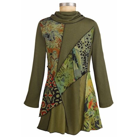 We Love Olive Tunic Top