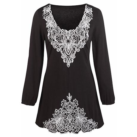 Reverse Image Tunic Tops