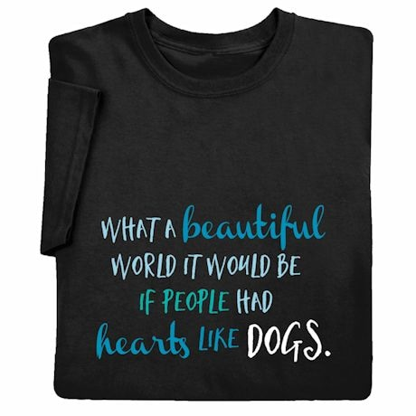 Hearts Like Dogs Ladies' T-Shirt