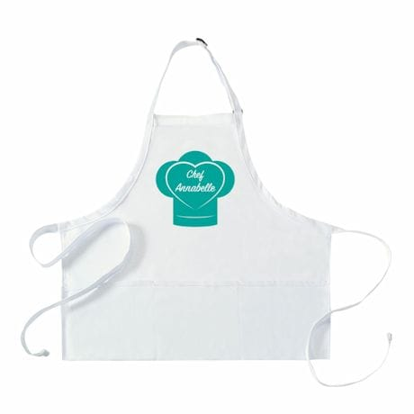 "Personalized Adult's ""Chef"" Apron"