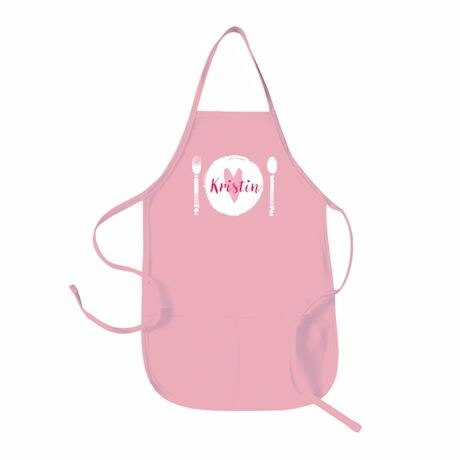 "Personalized Children's ""Place Setting"" Apron"