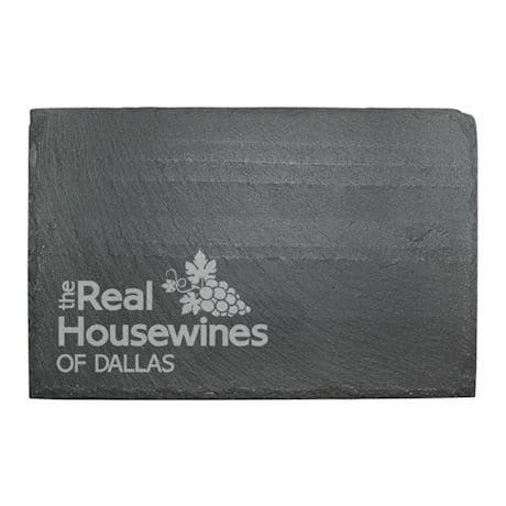 """Personalized """"Real Housewines"""" Slate Cheese Board"""