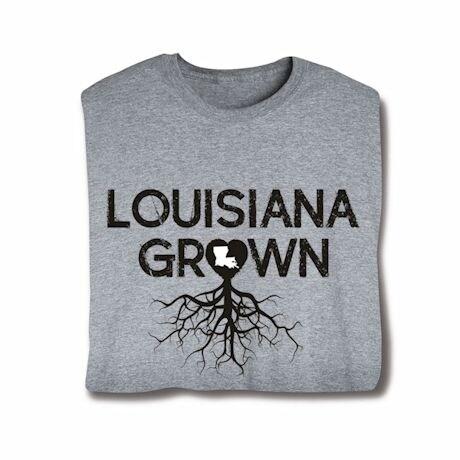 """Homegrown"" T-Shirt - Choose Your State - Louisiana"
