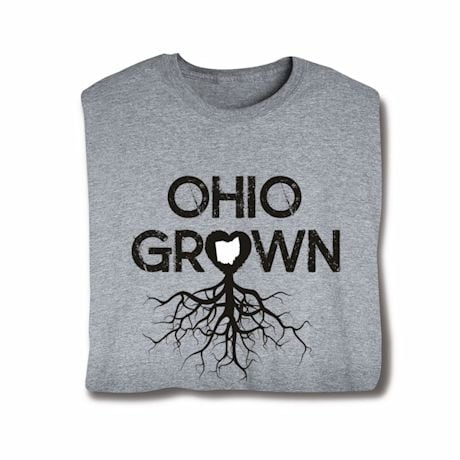"""Homegrown"" T-Shirt - Choose Your State - Ohio"