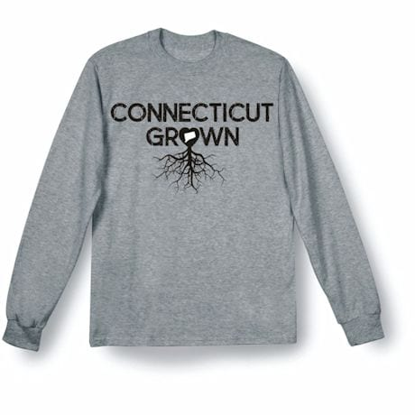 """""""Homegrown"""" T-Shirt - Choose Your State - Conneticut"""