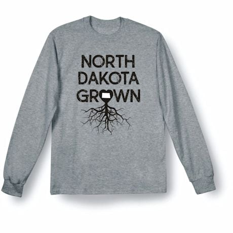 """Homegrown"" T-Shirt - Choose Your State - North Dakota"