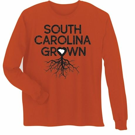 """Homegrown"" T-Shirt - Choose Your State - South Carolina"