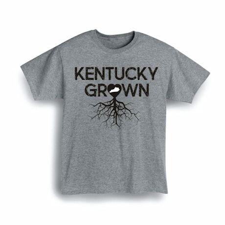 """""""Homegrown"""" T-Shirt - Choose Your State - Kentucky"""