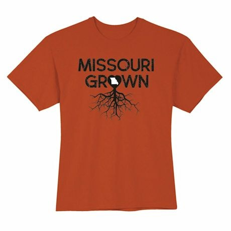 """Homegrown"" T-Shirt - Choose Your State - Missouri"