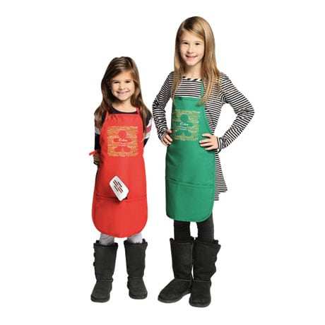 Personalized Gingerbread Children's Apron