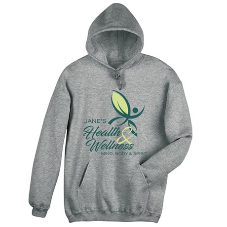 """Personalized """"Your Name"""" Health & Wellness Club Tee"""