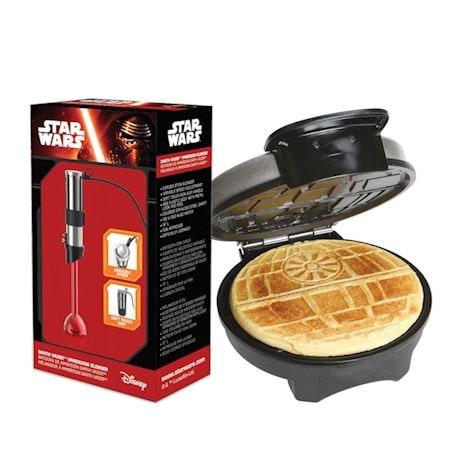 Star Wars Rogue One Lightsaber Immersion Handheld Blender and Death Star Waffle Maker Set