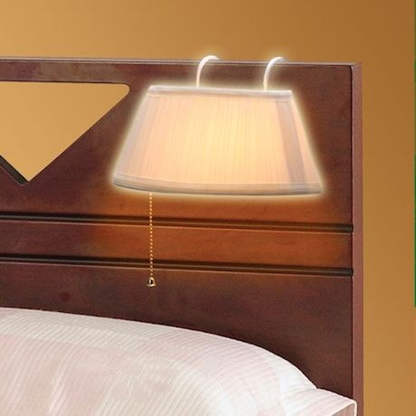 Hanging Headboard Bed Lamp