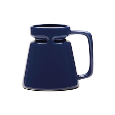 Ocean Blue Travel Coffee Mug - 18 ounce - By Hotjo