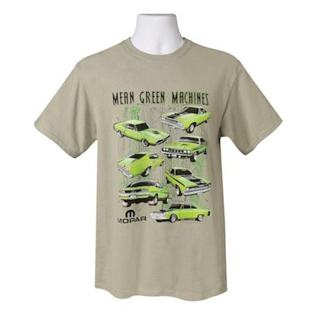 Dodge Mopar Mean Green Machines T-Shirt - Short Sleeve