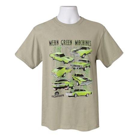 Dodge Mopar Mean Green Machines T-Shirt - Short Sleeve