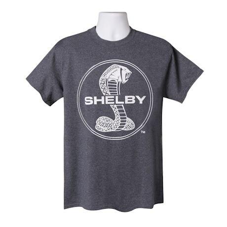Shelby Cobra Logo T-Shirt - Short Sleeve - Heather Navy Blue