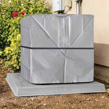 Outdoor A/C Cover - Winter Weather Protector - Square
