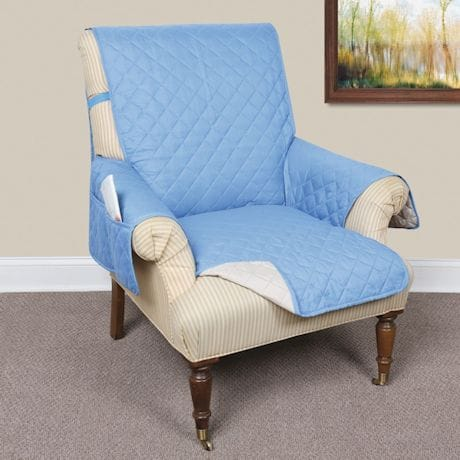 Awesome Support Plus Reversible Quilted Microfiber Recliner Chair Spiritservingveterans Wood Chair Design Ideas Spiritservingveteransorg