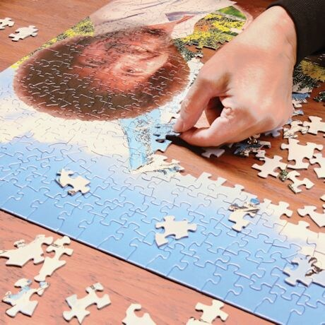 Wellspring Premium Bob Ross 500 Piece Jigsaw Puzzle