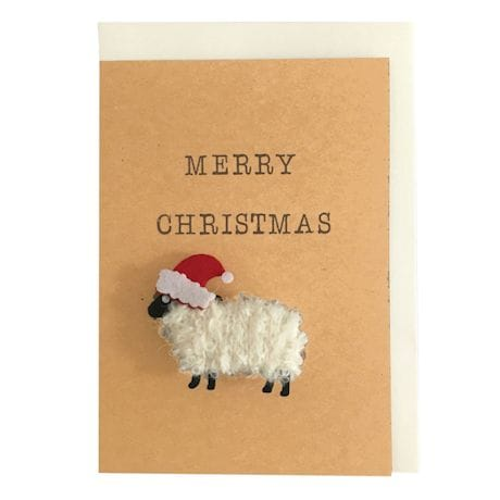 Merry Christmas to Ewe - Sheep Christmas Card
