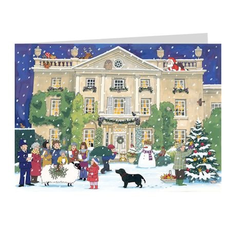 Alison Gardiner Advent Calendar Christmas Cards - Set of 4